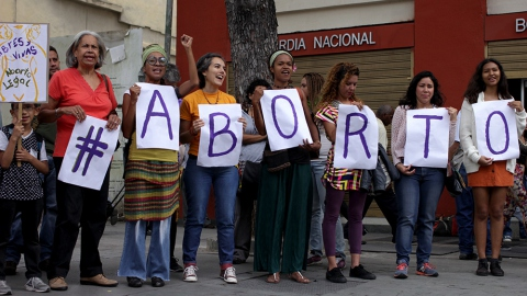 In Caracas, women stand together for the depenalization of abortion